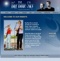 Big Blue Sky Website
