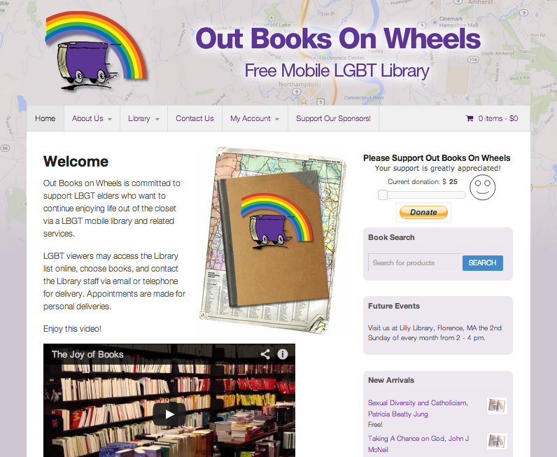 Out Books On Wheels