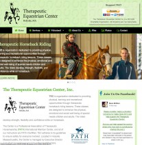 Therapeutic Equestrian Center Website