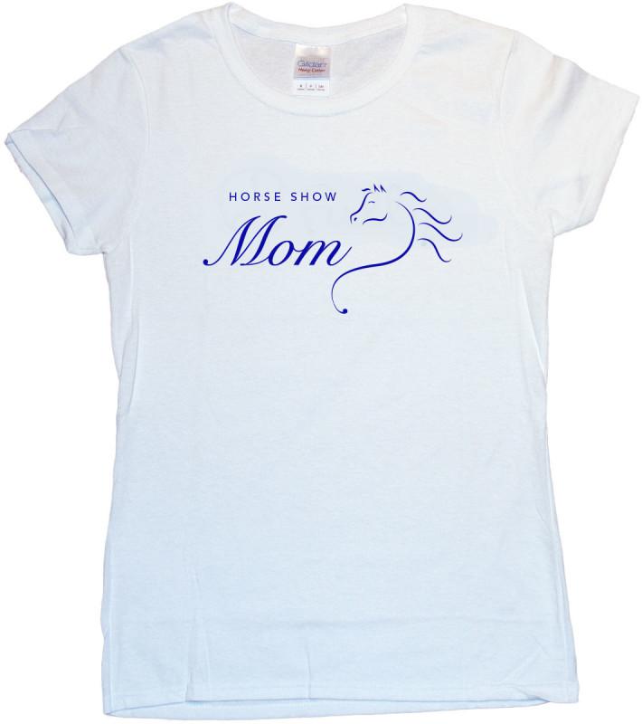Horse Show Mom Tshirt