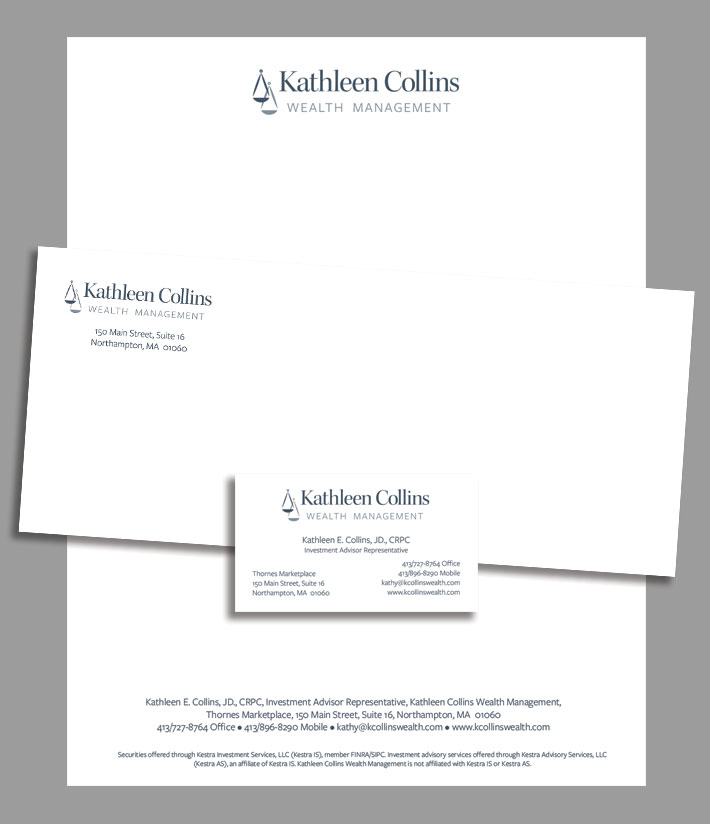 Kathleen Collins Wealth Management Stationery